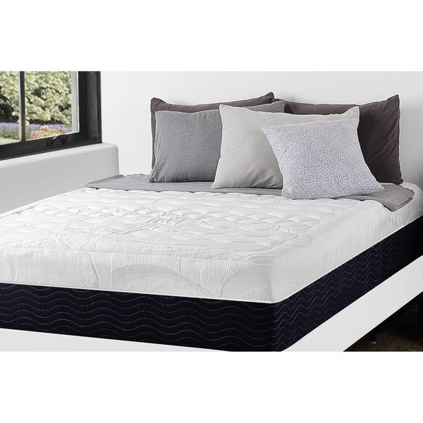 Priage 13-inch King-size Hybrid Gel Memory Foam Spring Mattress and SmartBase Foundation Set