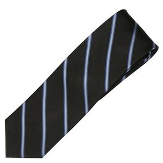 Alara Black Modern Width Silk Tie