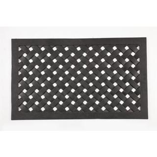 Woven Recycled Rubber Doormat