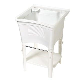 Zenith ErgoTub Freestanding Utility Laundry Sink