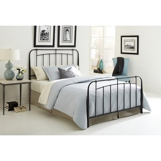 Fashion Bed Group Concorde Black Speckled Steel Headboard