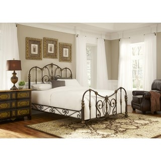 Fashion Bed Group Empress Gilded Bronze Steel Headboard
