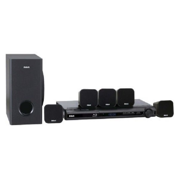 RCA RTB1013 300-watt 5.1 Surround Sound Blu-ray/ DVD Home Theater System (Refurbished)