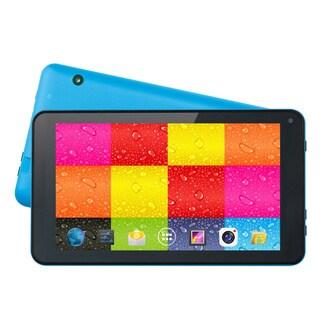 """Supersonic SC-4207Blue 4 GB Tablet - 7"""" - Wireless LAN - Allwinner Co"""