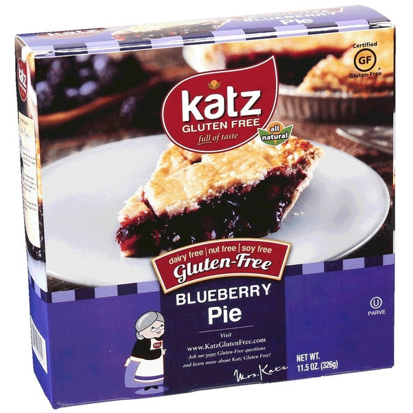 Katz Gluten-free Blueberry Pie (2 Pack)