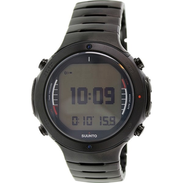 Suunto Men's D6I SS019477000 Black Stainless Steel Quartz Watch