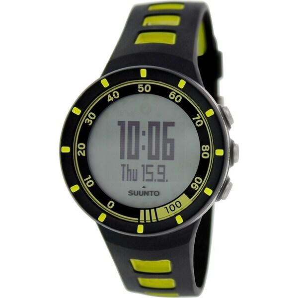 Suunto Men's Quest SS018716000 Black Plastic Quartz Watch