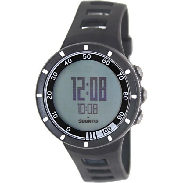 Suunto Men's Quest SS018156000 Digital Rubber Quartz Watch