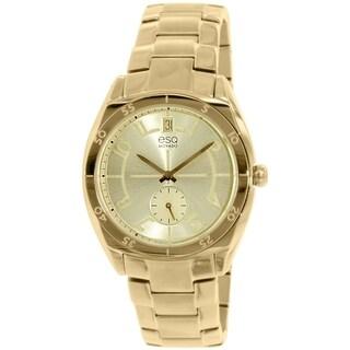 Esq Women's 07101401 Goldtone Stainless Steel Swiss Quartz Watch