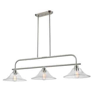 Z-Lite Annora 3-light Brushed Nickel Specialty Light