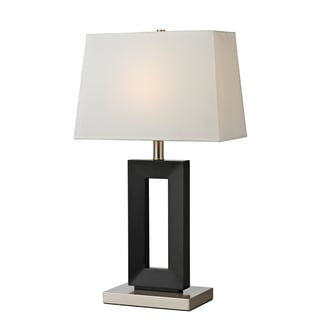Z-Lite 1-Light Black Table Lamp