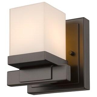 Z-Lite Cadiz 1-light Matte Opal Shade Wall Sconce