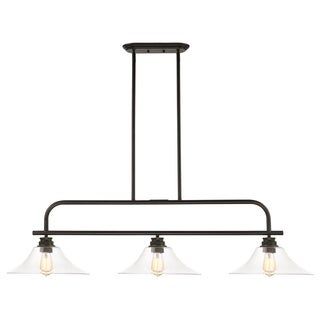 Z-Lite Annora 3-light Olde Bronze Clear Specialty Light