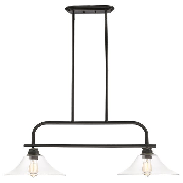 Z-Lite Annora 2-light Olde Bronze Clear Specialty