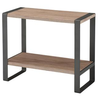 Munich Wood/Metal Grey Console Table