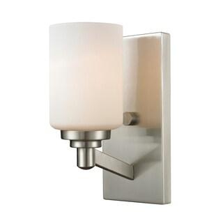 Z-Lite Montego 1-light Matte Opal Wall Sconce