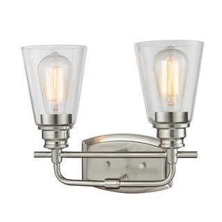Z-Lite Annora 2-light Brushed Nickel Vanity