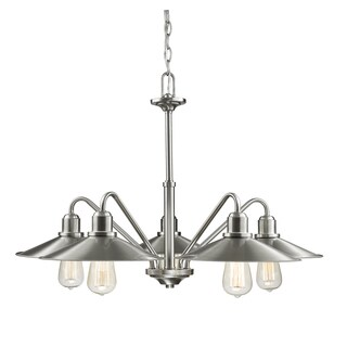 Z-Lite Casa 5-Light Brushed Nickel Chandelier