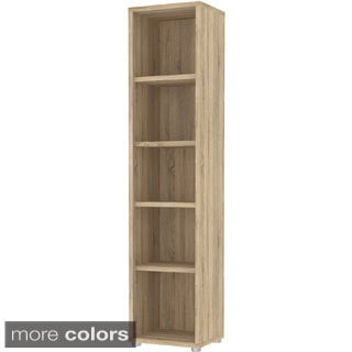 Structure Bocca 5-shelf Narrow Bookcase