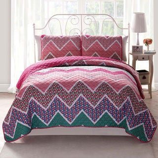 Marion Reversible 3-piece Quilt Set