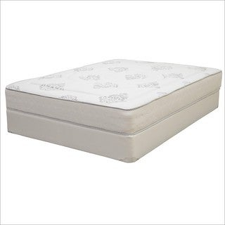 Hampton and Rhodes Trinidad Full-size Innerspring and Memory Foam Hybrid Mattress Set