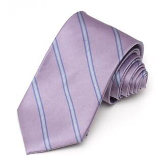 Alara Lavender Modern Width Silk Tie