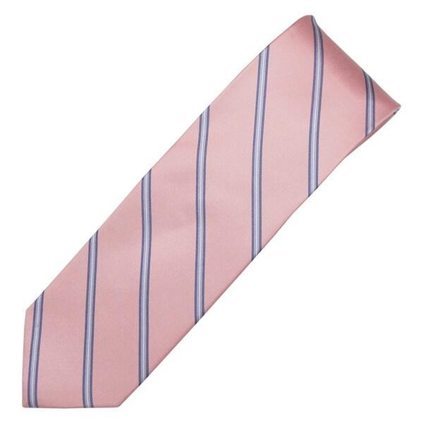 Alara Pink Modern Width Silk Tie