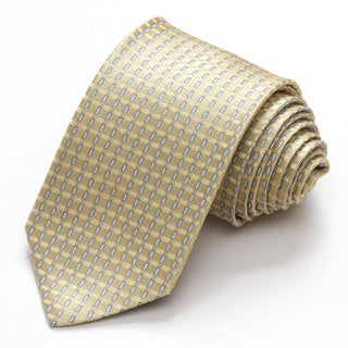 Alara Yellow Modern Width Silk Tie