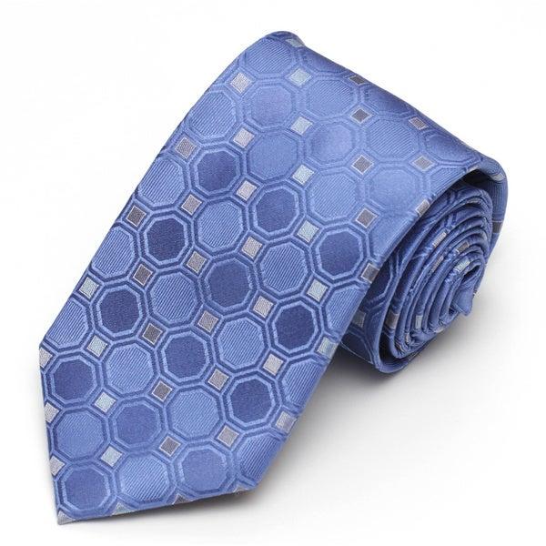 Alara Blue Modern Width Silk Tie
