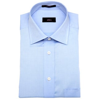 Alara Fine Blue Twill Men's Dress Shirt