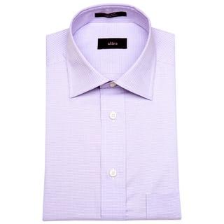 Alara Lavender Micro Gingham Men's Dress Shirt