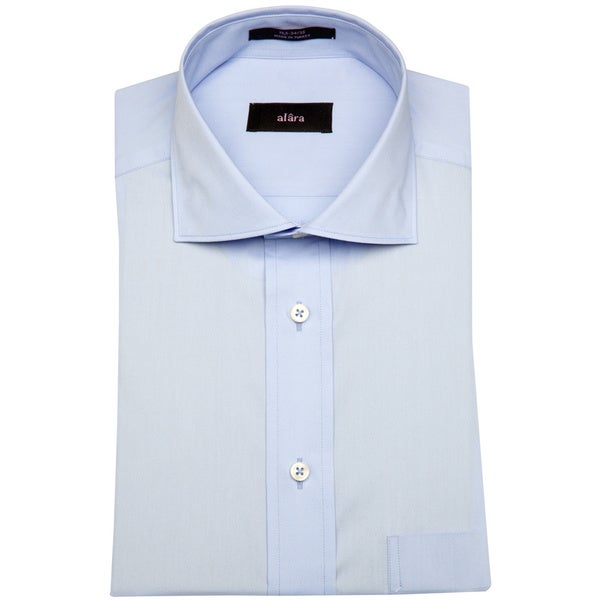 Alara Blue Royal Poplin Mens Dress Shirt