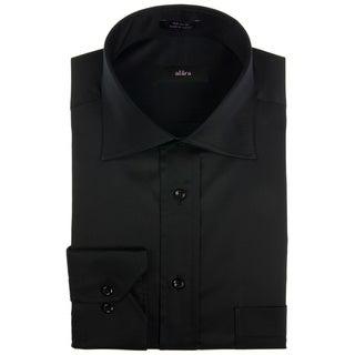 Alara Black Luxurious Twill Men's Dress Shirt