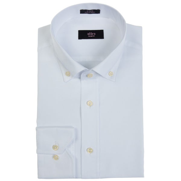 Alara White Pinpoint Oxford Button Down