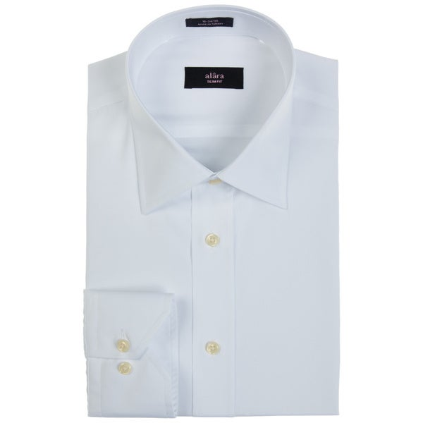 Alara Everyday White Fine Poplin Dress Shirt