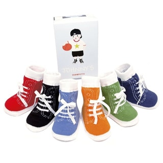 Trumpette Multi-colored Johnny's Brights Sneaker Sock Set