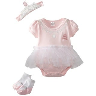 Baby Aspen Newborn Big Dreamzzz Princess 3-piece Set