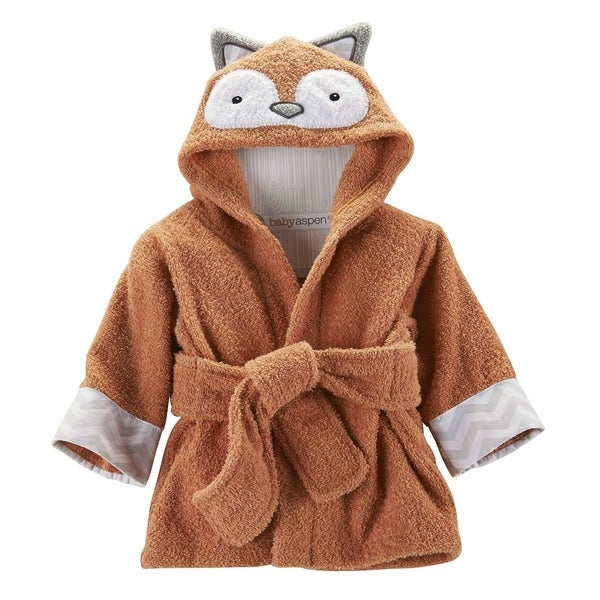 Baby Aspen Rub-a-Dub Fox in the Tub Hooded Spa Robe