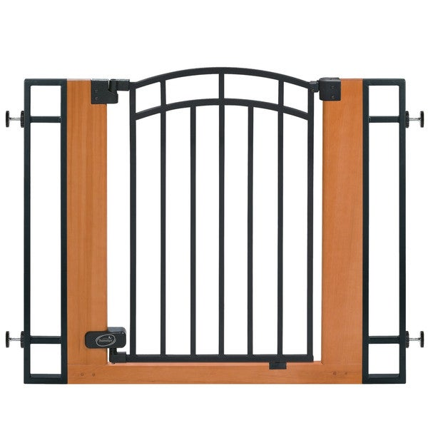 Summer Infant Wooden Metal Walk-thru Gate