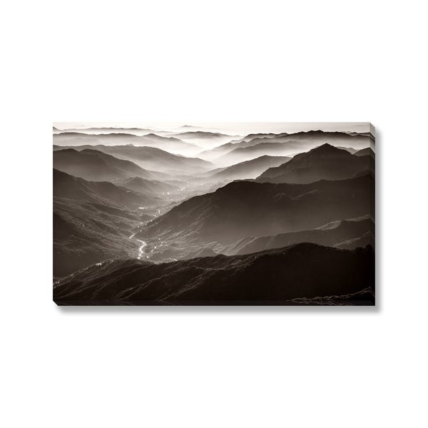Nstanev 'Sequoia National Park' Gallery Wrapped Canvas