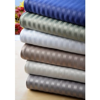 Dobby Stripe Collection 90 GSM Microfiber 4-piece Sheet Set