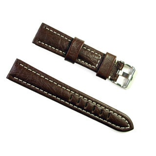 Banda Wyoming Buffalo Real Italian Brown Leather Band