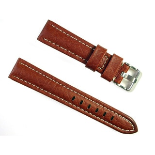 Banda Wyoming Buffalo Real Italian Honey Leather Band