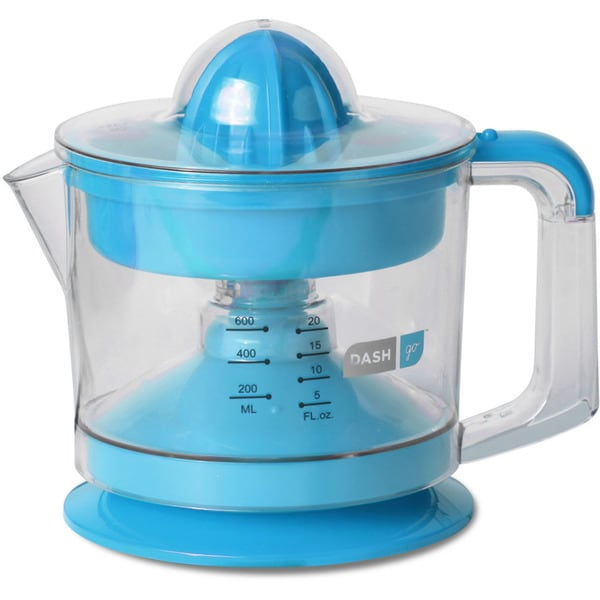 Dash JB065BU Go Dual Blue Citrus Juicer