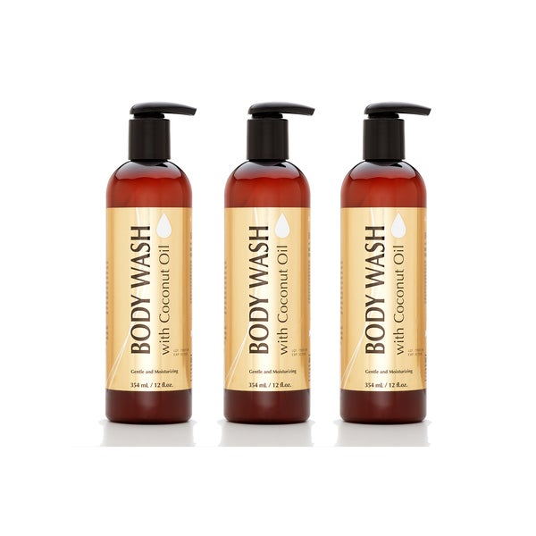 Coconut Oil Body Wash (Pack of 3)