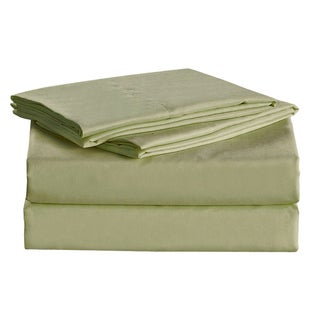 Megan Royal Light Green Sheet Set