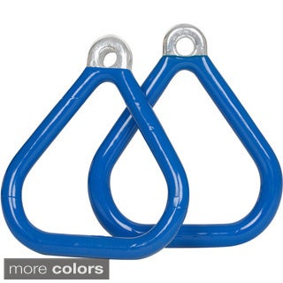 Swing Set Stuff Commercial Coated Triangle Trapeze Rings