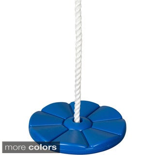 Swing Set Stuff Daisy Disc Swing Seat with Rope