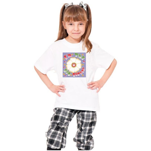Youth I'm The Big Sister' Print Cotton T-shirt