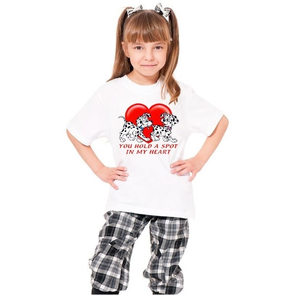 Youth 'You Hold a Spot In My Heart' Print Cotton T-shirt